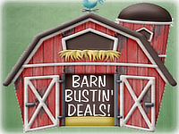 Barn Bustin' Deals!