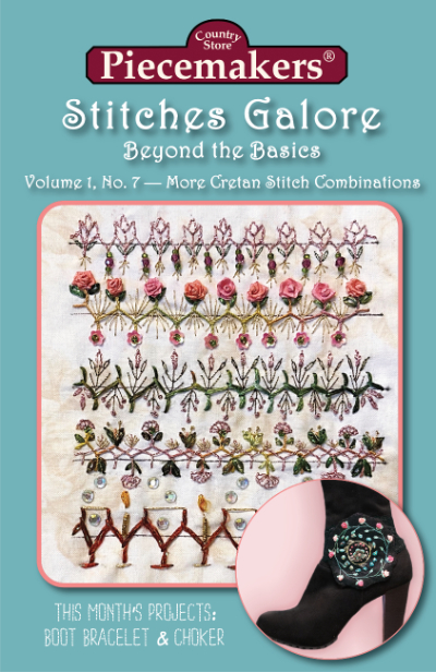 Stitches Galore:  Beyond the Basics—Volume 1, No. 7—More Cretan Stitch Combinations MAIN