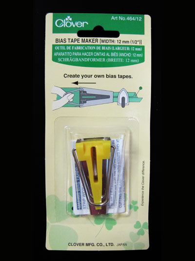 "Clover Bias Tape Maker - 1/2"" MAIN"