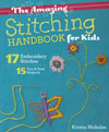 The Amazing Stitching Handbook for Kids – by Kristin Nicholas SWATCH