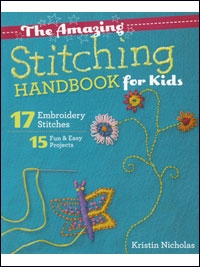 The Amazing Stitching Handbook for Kids – by Kristin Nicholas THUMBNAIL