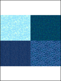 "QT Fabrics ""His Majesty - The Tree"" # 27565-B Blue - Blue Fat Quarter Panel THUMBNAIL"