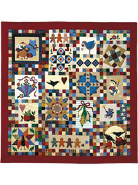 Piecemakers 1995 Times and Seasons Patterns THUMBNAIL