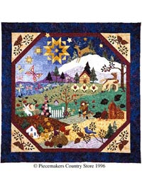Piecemakers 1998 Times and Seasons Patterns THUMBNAIL