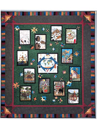 Piecemakers 2004 Times And Seasons Calendar and Quilt Book THUMBNAIL