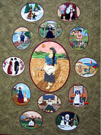 Piecemakers 2006 Times and Seasons Calendar and Quilt Book THUMBNAIL