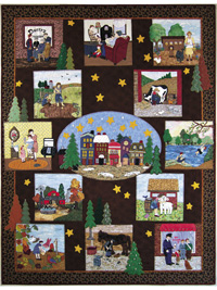 Piecemakers 2008 Times and Seasons Calendar and Quilt Pattern Book THUMBNAIL