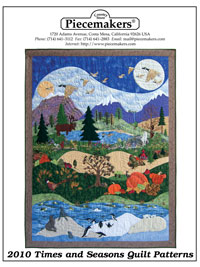 Piecemakers 2010 Times and Seasons Patterns THUMBNAIL
