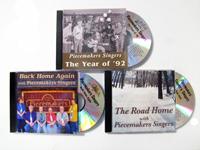 Piecemakers Singers CDs — Country, Folk, Bluegrass, Gospel & More