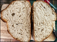 Heirloom Wheat Sourdough Bread THUMBNAIL
