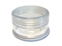 Lip Balm Jar Container — Clear THUMBNAIL