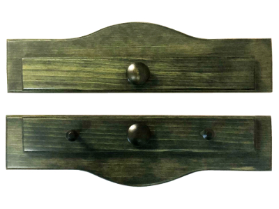 Piecemakers Two-Piece Wood Calendar or Wallhanging Holder – Forest Green MAIN