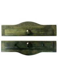 Piecemakers Two-Piece Wood Calendar or Wallhanging Holder – Forest Green THUMBNAIL