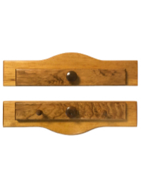 Piecemakers Two-Piece Wood Calendar or Wallhanging Holder – Light Oak THUMBNAIL