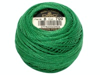 DMC #8 Perle Cotton Ball – Col. 700 Grass Green THUMBNAIL