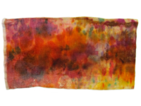 Hand Dyed Silk/Rayon Velvet—Inferno THUMBNAIL