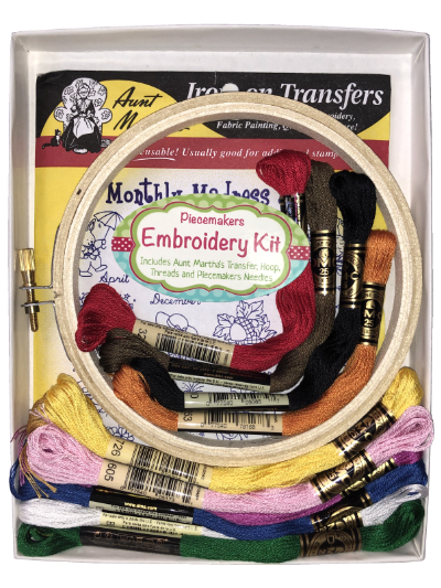 "Easy Embroidery Kit – ""Monthly Madness"" MAIN"