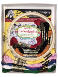 "Easy Embroidery Kit – ""Monthly Madness"" THUMBNAIL"