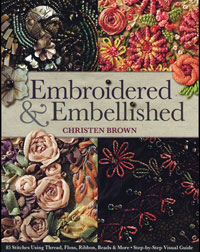 Embroidered and Embellished – by Christen Brown THUMBNAIL