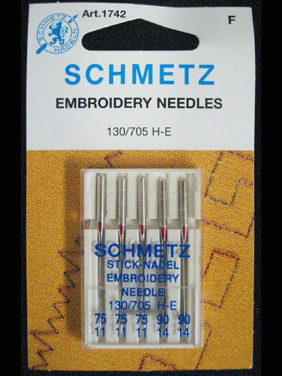 Schmetz - Embroidery Needles MAIN