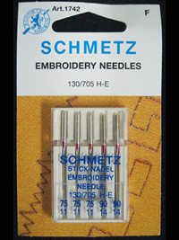 Schmetz - Embroidery Needles  #1742 THUMBNAIL