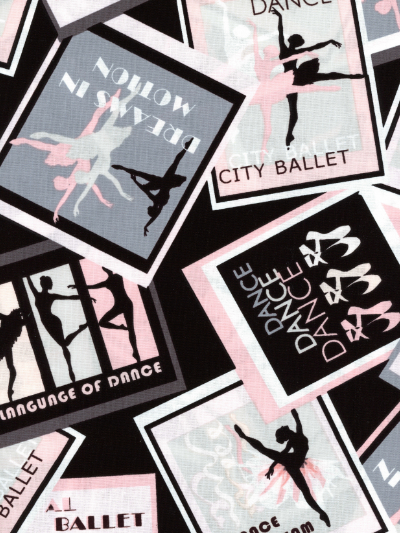 "Kanvas Studio ""City Ballet"" # 8615-12 – Ballet Posters MAIN"