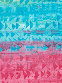 "Timeless Treasures Batik ""Tonga Vivid"" # Tonga-B6866-Vivid - Colorful Fast Forward Stripes THUMBNAIL"