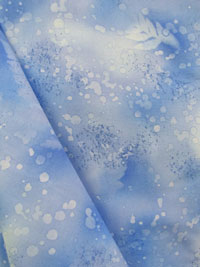Blue Frost Fossil Fern Fabric (27) THUMBNAIL