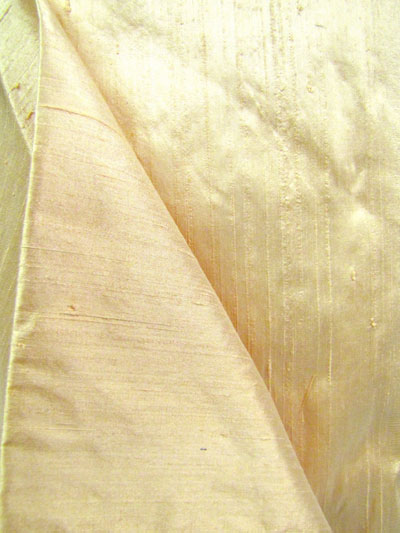 Dusty Peach Dupioni Silk Fabric MAIN