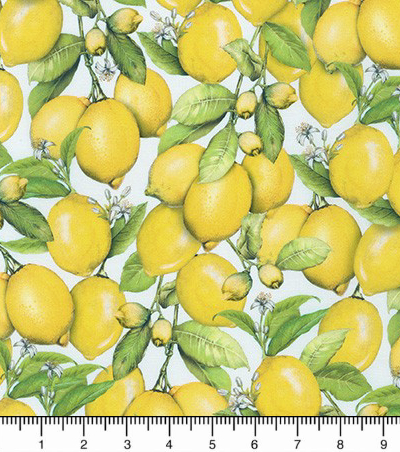"Robert Kaufman ""Down on the Farm"" # AMKD-19303-137-LEMON - Lemons MAIN"