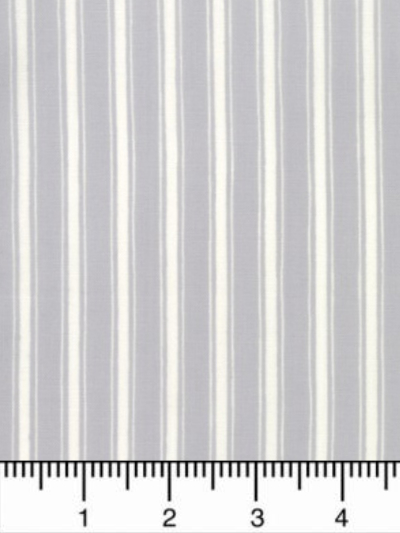 "Moda ""Land That I Love"" # 19888-17 - Gray and Cream Stripes MAIN"