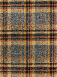 "Robert Kaufman ""Mammoth Flannel"" # SRKF-16429-124-Maize - Gray, Black and Tan Plaid Flannel THUMBNAIL"