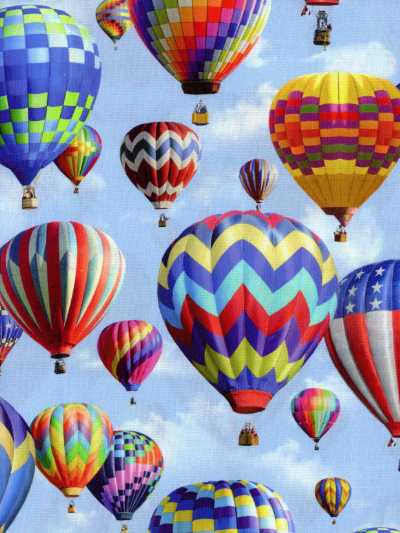 "Hoffman ""American Byways"" # P4343 Sky – Hot Air Balloons MAIN"