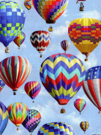"Hoffman ""American Byways"" # P4343 Sky – Hot Air Balloons THUMBNAIL"