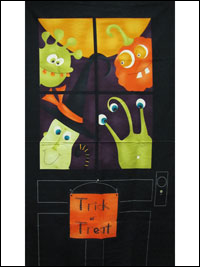 "Moda Fabrics ""Monster Bash""  Item# 17670-11 — Halloween Panel THUMBNAIL"