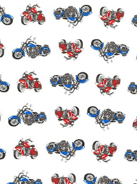 "Robert Kaufman ""Let's Go 2"" # SB-850280D3-1-White – Motorcycles THUMBNAIL"