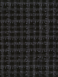 Timeless Treasures Row C5935-Black - Music Notes Grid THUMBNAIL