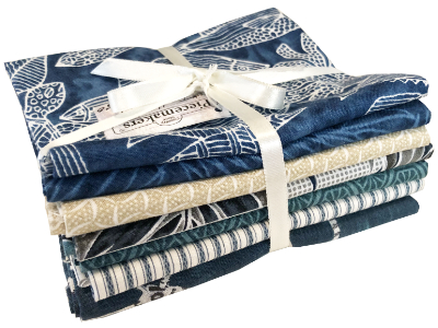 """Turtle Bay"" Fabric Pack MAIN"