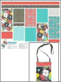 "QT Fabrics ""Lexi"" # 1649-27513-A-Bark – Lexi Runaround Bag/Purse Panel THUMBNAIL"