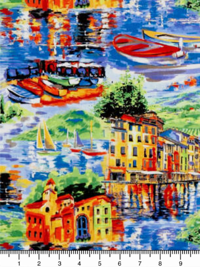"Paintbrush Studio ""Portofino"" # 120-99001 - Portofino Large Scenic MAIN"