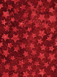 "Northcott ""Stars and Stripes VII"" # 20160-24 col. Red — Red Stars THUMBNAIL"