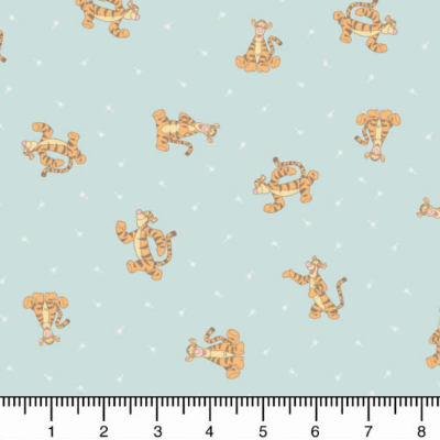 "Camelot ""Winnie the Pooh"" # 85430103-02 — Tigger on Light Blue MAIN"