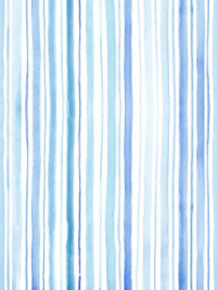 "In The Beginning Fabrics ""The Leah Collection"" # 12TLC-1 — Blue Watercolor Stripes THUMBNAIL"