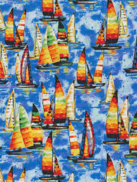 "Paintbrush Studio ""Portofino"" # 120-99071-Multi - Sailboats THUMBNAIL"