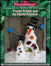 "Vintage Chenille ""Frozen Freddy and the Flashy Frosties"" Snowman SWATCH"