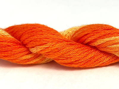 Threadworx Overdyed Cotton Floss – 010721 Orange Swirl MAIN