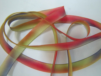 "Hanah Hand-dyed Silk Ribbon, 7/16"" — Painted Desert MAIN"
