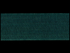 "Woven Edge Rayon Ribbon, 1/2"" - Carafe Green SWATCH"