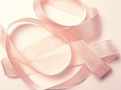 "Woven Edge Rayon Ribbon, 1/2"" - Baby Pink MAIN"