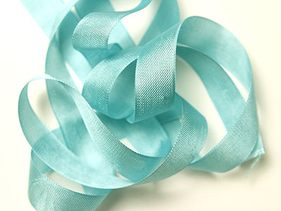 "Woven Edge Rayon Ribbon, 1/2"" - Elegant Peacock MAIN"